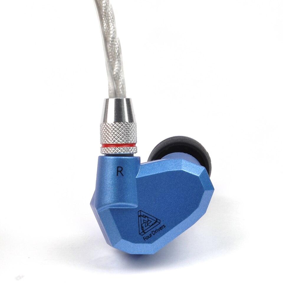 KZ ZS3 ZS5 ZS6 Kabel 2pin 0,75mm Verbesserte Silber überzogene Kabel Kopfhörer Upgrade Kabel für KZ kopfhörer KZ ZS6 ZS5