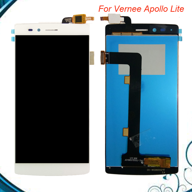 High Quality For Vernee Apollo Lite LCD and Touch Screen Assembly Repair Part 5.5 inch
