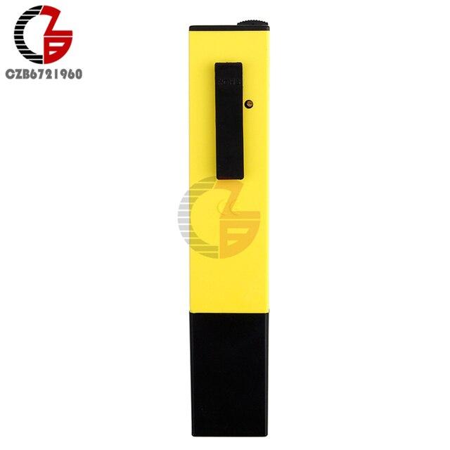 Haute précision 0.01 portable LCD numérique PH mètre testeur analyseur stylo pour eau nourriture Aquarium piscine hydroponique sol PH moniteur