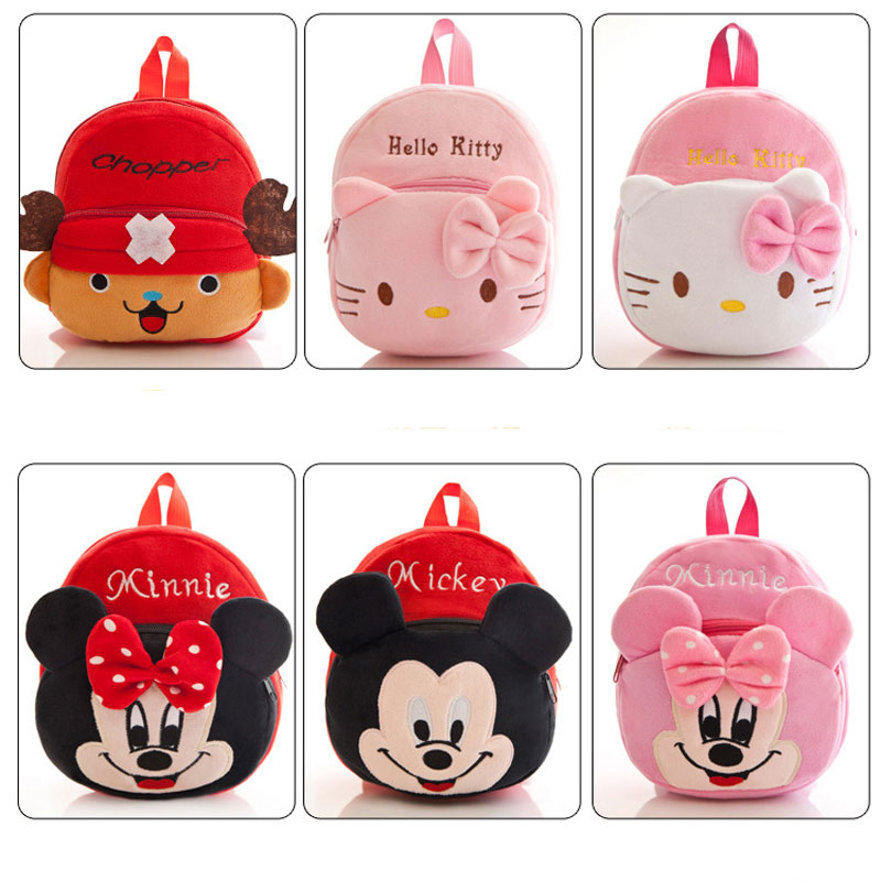 57267b6fc3 new cute cartoon kids plush backpack toys mini schoolbag kawaii animal one  piece for toddler children-in Plush Backpacks from Toys   Hobbies on ...