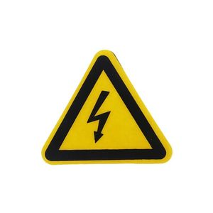 Image 5 - Warning Sticker Adhesive Labels Electrical Shock Hazard Danger Notice Safety 25mm 50mm 100cm PVC Waterproof
