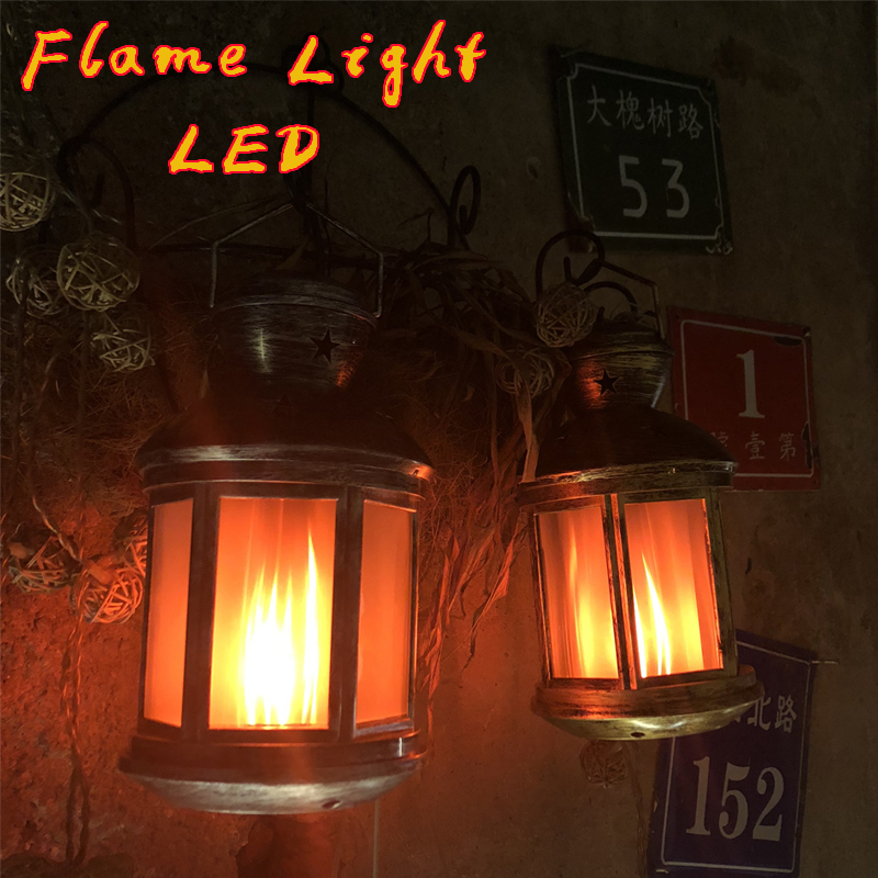 2019 LED Flame Lamps  Flame Effect Light Bulb Wind Light Creative Home Vintage Decoration Halloween Christmas gifts LED light|Portable Lanterns| |  - title=