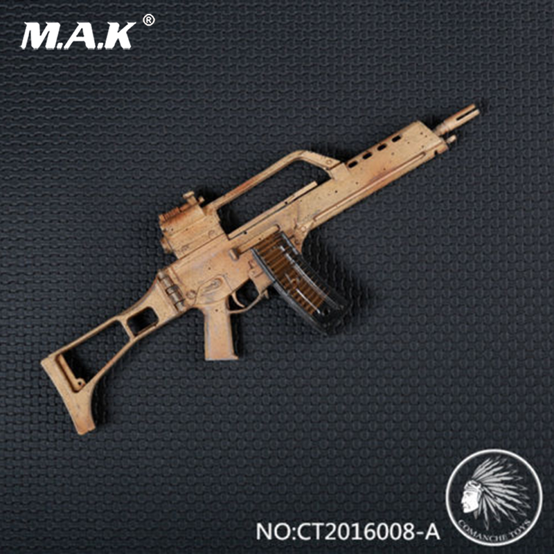 Toys 1/6 German G36 Assault Rifle CT2016008-A Gun Weapon Model Fit 12 Soldier Action Figure Dolls Accessories Collections 1 6 scale rifle gun model for 12 inches action figure accessories collections x80028 m700pss x80026 psg1