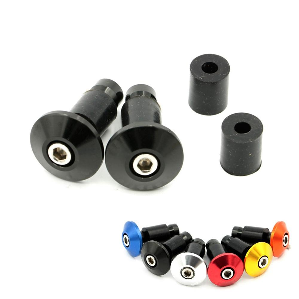 motorcycle hand grips block anti vibration handle bar ends weights grip cap plug slider. Black Bedroom Furniture Sets. Home Design Ideas