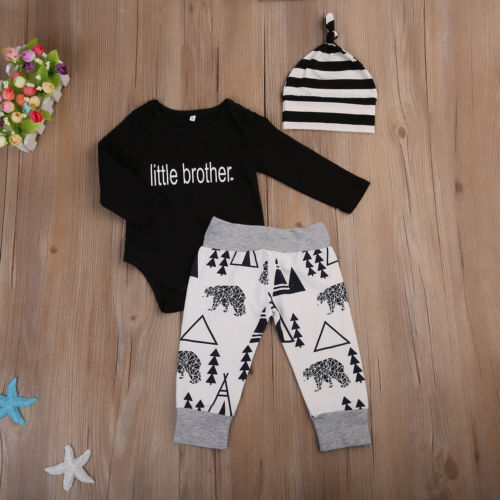 Baby Outfit set  little brother