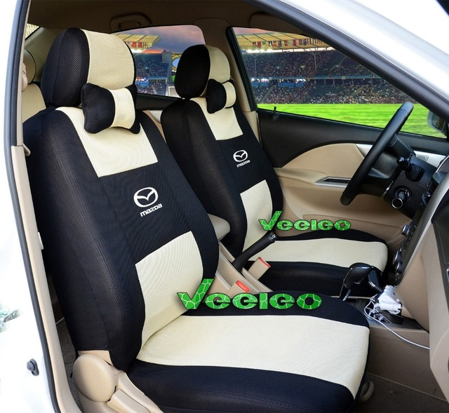 Superior (Front + Rear) Customized Universal Car Covers For All MAZDA 5 Seats Car