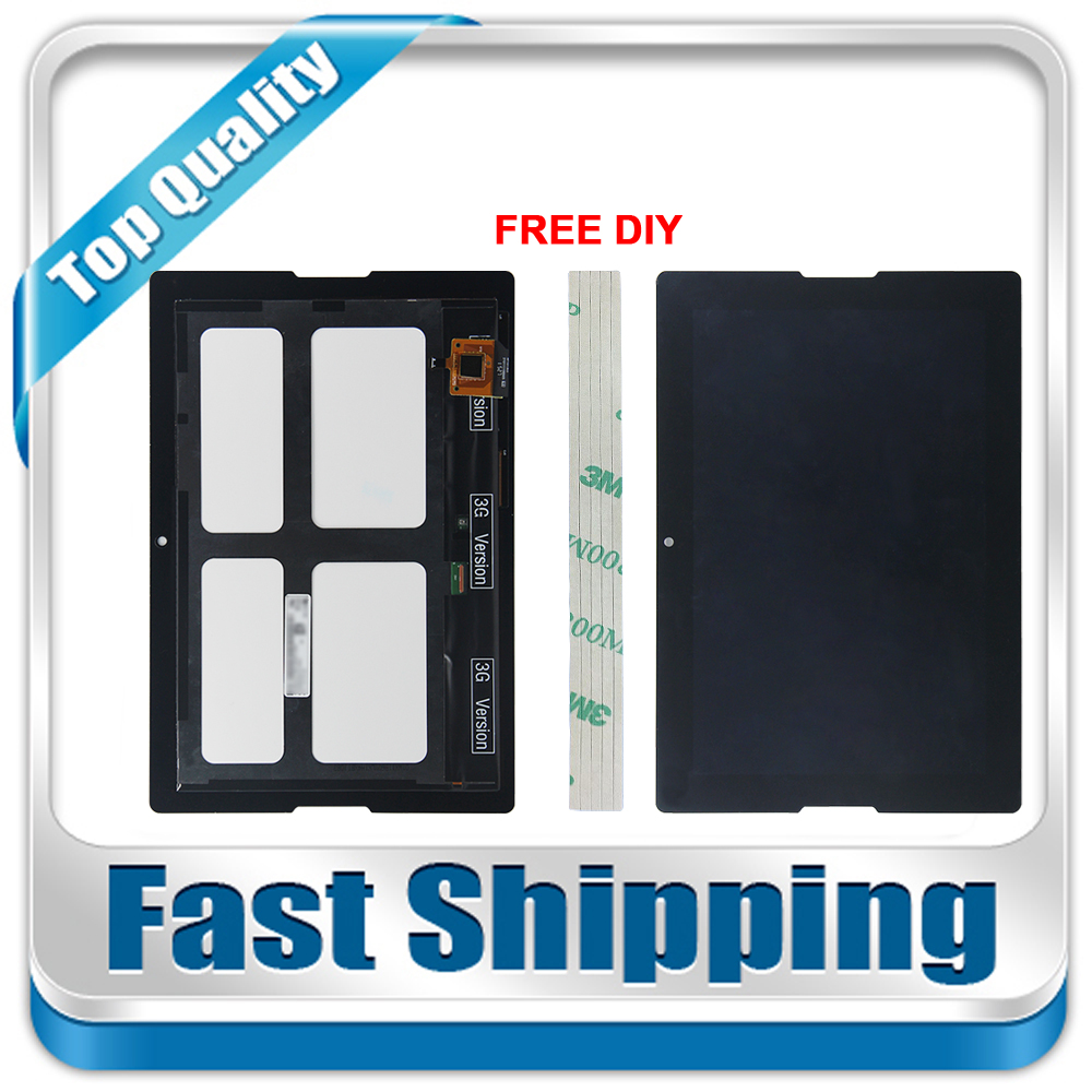 New For Lenovo Tab A10-70 A7600 Replacement LCD Display Touch Screen Assembly Black 10.1-inch 15119627