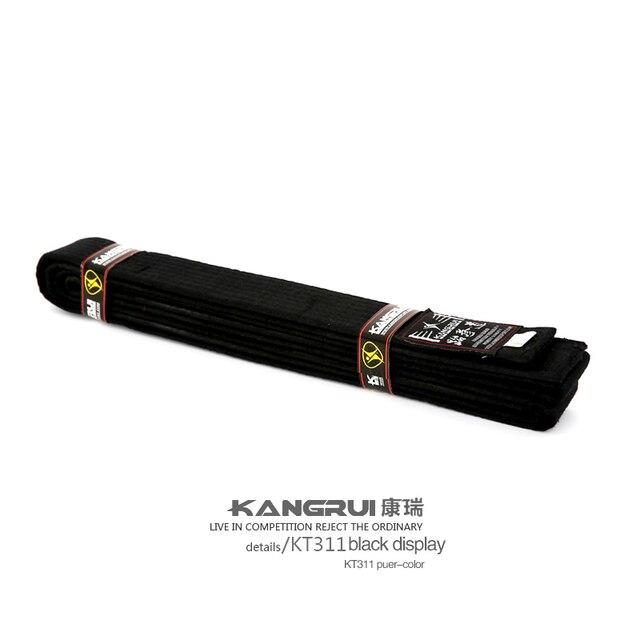 0062e98e5 جيد جودة القطن التايكوندو أحزمة الأسود الأحمر الأخضر الأصفر حزام الكاراتيه  الجودو حزام الكاراتيه 10 مستويات
