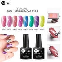 цена на Mtssii 8ml Cat Eye Gel Polish Manicure Gel Lacquer Jade Nail Gel Polish Soak Off Gel Varnish Set All For Nail Art Polish