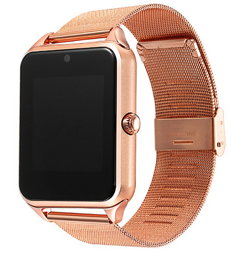 Luxury Stainless Steel Smart Watch For Women Pedometer Sleep Monitor Sport Watches Led Touch Switch Intelligent Cell Phone Clock stainless steel double head crowbar for cell phone silver