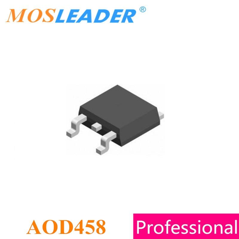 Mosleader AOD458 TO252 100 шт. оригинальный N-Channel 250V 14A 280mR Mosfets высокое качество