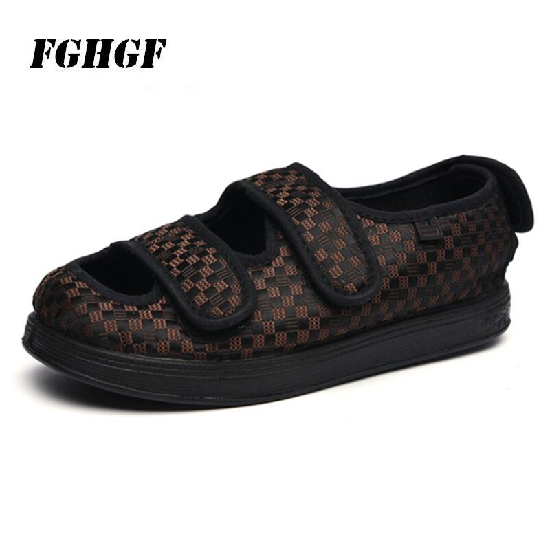 Cloth-Shoes Spring Foot-Swelling And Autumn for The Elderly-Can Adjust Widening-Of-The-Net