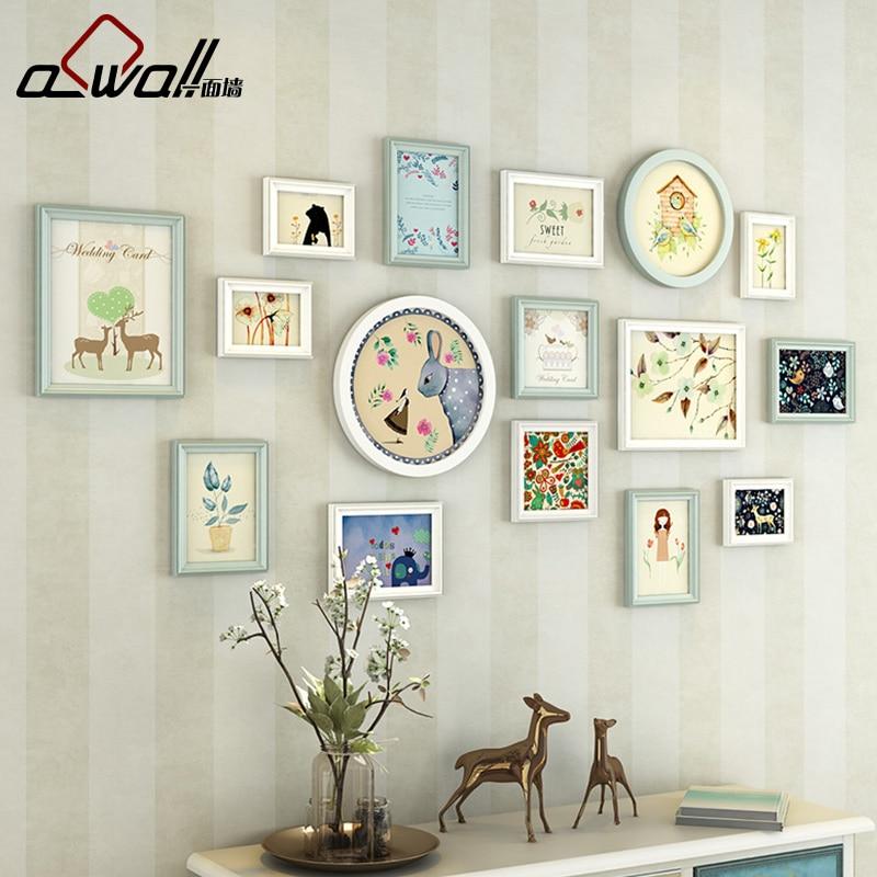 Bilderrahmen 16 Teile/los Baby Rahmen Wand Acryl Bilderrahmen Für ...