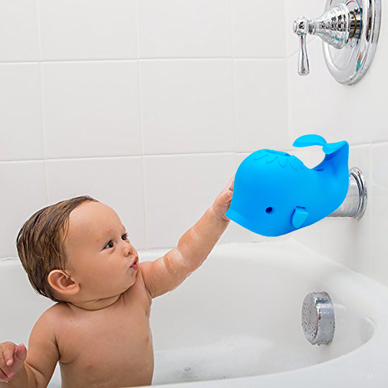 Baby Care Bath Tap Tub Safety Water Faucet Cover Protector Guard Edge Corner Protection Supplies  88 S7JN