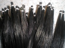 25 Hanks Black Mongolia horse hair 7 grams/hank 82cm in length