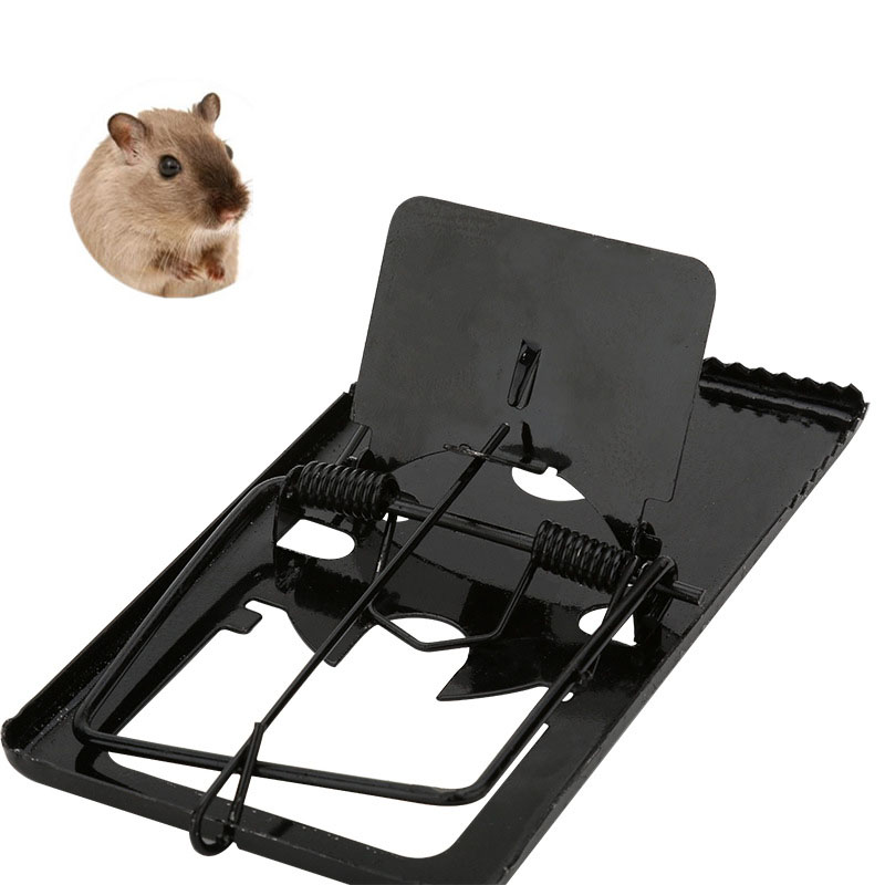 Iron Mouse Traps Rodent Repeller Useful Pest Catching Mice