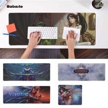 Babaite Hot Sales League of legends Office Mice Gamer Soft Mouse Pad Free Shipping Large Keyboards Mat