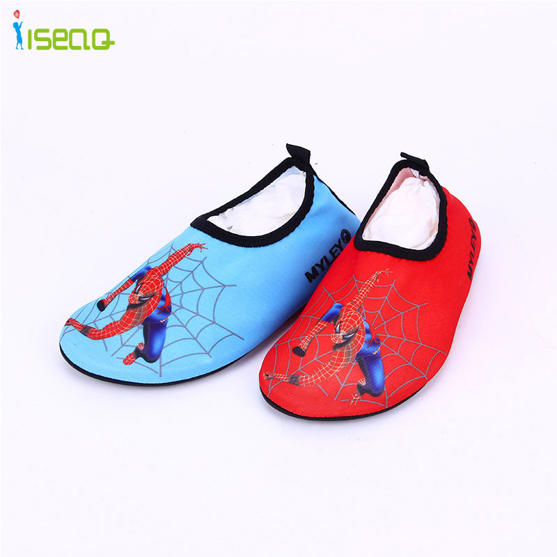 kids swimming shoes spiderman Upstream Walking Water Quick Drying sneakers Shoes breathable drifting Sport home shoes EUR 24-35