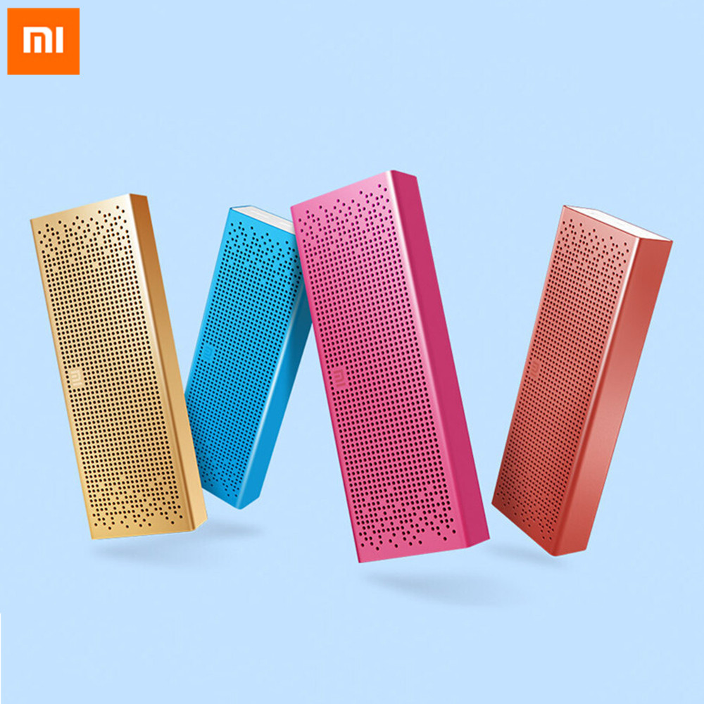 Original Xiaomi Mi Bluetooth Speaker Wireless Stereo Portable MP3 Player Audio Handsfree Microphone Support For Smart Phones original xiaomi bluetooth speaker wireless stereo mini portable mp3 player hands free phone support sd card for iphone xiaomi