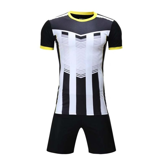 32628d18e Men s New 2017 Orange And Blue Color Breathable Soccer Jerseys Sets Clubs  Party Football Team Soccer Uniforms Shirts Suit Custom