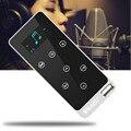 Para X5 Profesional Sin Pérdidas de ALTA FIDELIDAD Reproductor de Música reproductor de MP3 de Apoyo APE/FLAC/MP3 de almacenamiento de metal lleno 16G plata