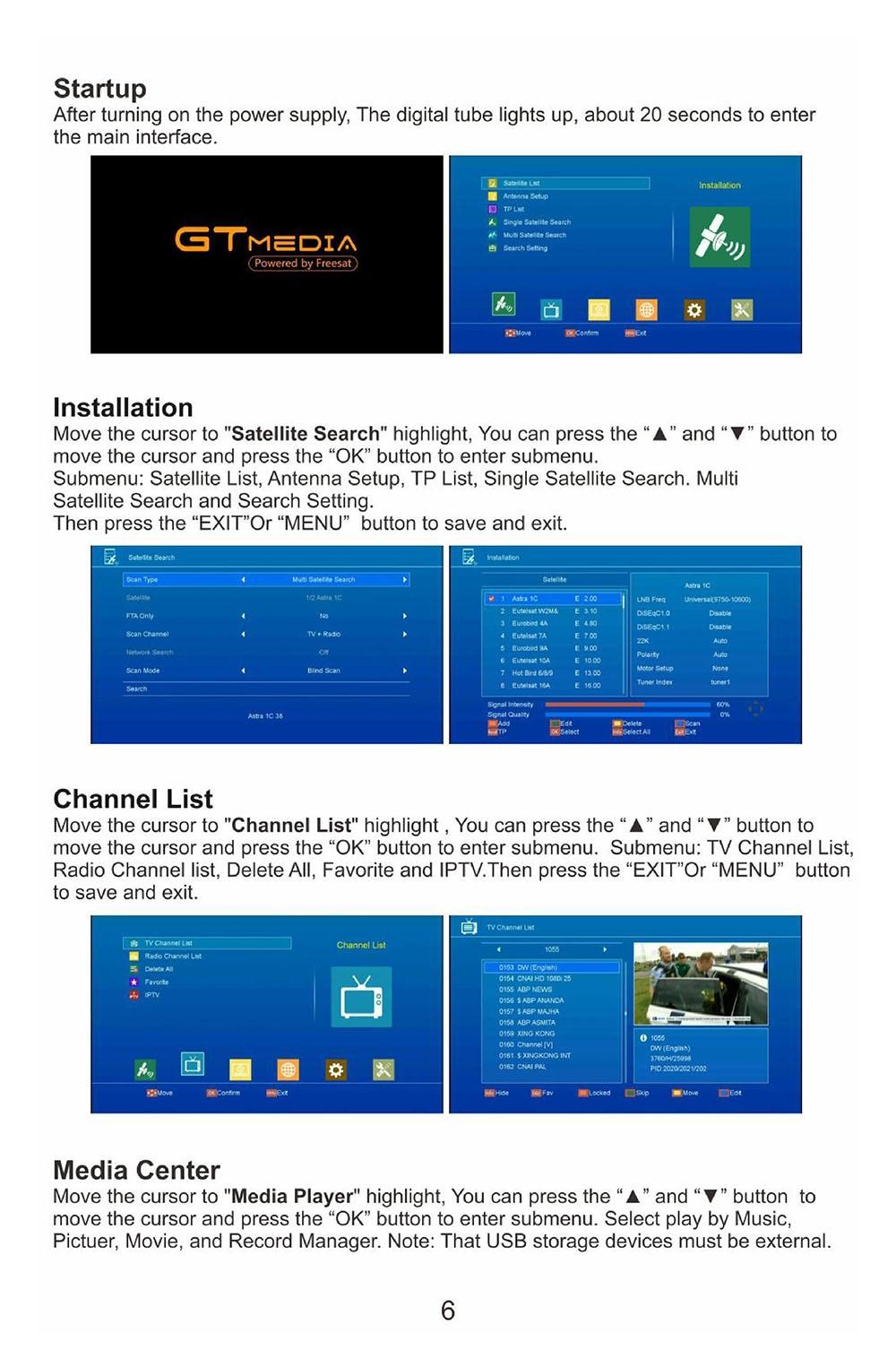 US $36 18 20% OFF|Gtmedia V8 NOVA from Freesat V8 Super TV Receiver  Receptor Support built in WIFI H 265 DVB S2 cline cccam Box Spain tv  decoder-in