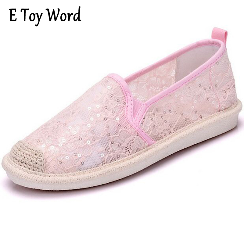 Summer Women Shoes Casual Cutouts Lace Canvas Shoes Hollow Floral Breathable Platform Flat Shoe sapato feminino AD863616 summer women shoes casual cutouts lace canvas shoes hollow floral breathable platform flat shoe sapato feminino lace sandals