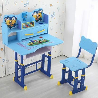 Mobília das crianças terno crianças secretária crianças aprendendo livro de mesa de mesa e cadeira pode ajustar elevador