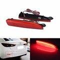ANGRONG 2x красный объектив задний бампер отражатель светодиодный задний стоп-сигнал для Mazda 2 5 6 Mazda3 BK BM 4D(CA240)