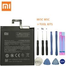 100% Original Xiaomi BN20 bn20 Battery For Mi 5C M5C Mi5C Mobile Phone Rechargeable Lithium-ion polymer Batteries