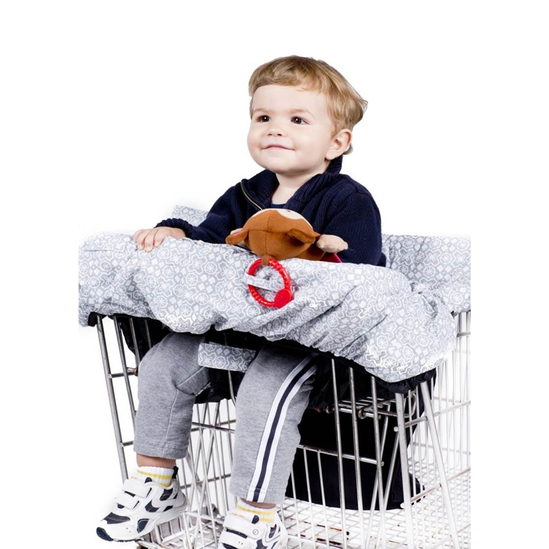 Foldable Baby Kids Shopping Cart Cushion Kids Trolley Pad Baby Shopping Push Cart Protection Cover Baby Chair Seat Mat цены