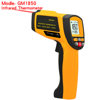 GM1850 Digital handheld gun non contact infrared thermometer laser Pyrometer professional industrial temperature gun IR