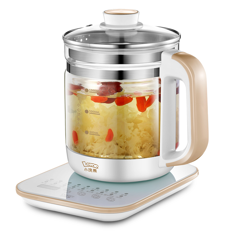 Kettle Health Pot Office Multifunctional Automatic Thickening Glass Home Health Pot Bouilloire Electrique Electric Tea Maker bouilloire electrique health pot automatic thickened glass multifunctional electric kettle tea pot flower teapot