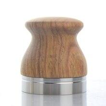 Нержавеющая сталь кофе ручка трамбовка для эспрессо 58 мм молоток для кофемашин