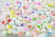 cheap 10PCS PE Foam Rose Flower Head Artificial Rose Handmade DIY Wedding Home Decoration Festive & Party Supplies 2.5cm