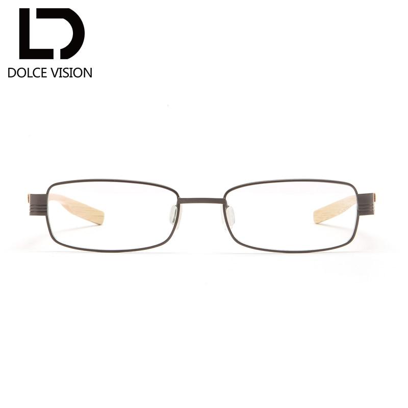 Astigmatismus Titan Vision t003 Holz Korrigierende Ultraleicht Dolce Optische T001 Frauen Gläser t002 Original Brillen qzEw0dO