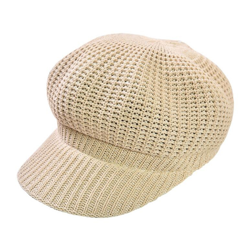 Kagenmo Summer And Autumn Shade Cool Linen Unisex Berets