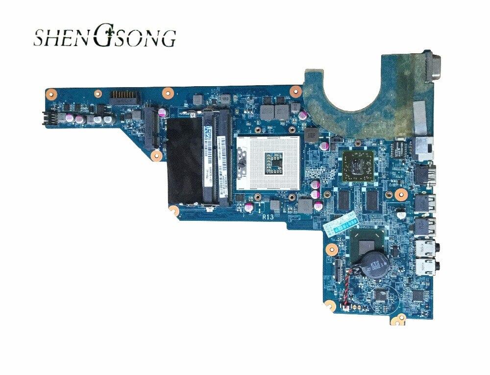 650199-001 636375-001 per HP pavilion G4-1000 DAOR13MB6E1 G4 G6 madre del computer portatile con hm65 chipset 100% completo testato ok