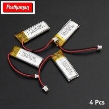 3.7V 130mAh Battery 501230 li-ion Lipo cells Lithium Li-Po Polymer Rechargeable Battery For mobile Bluetooth earphone speaker цена