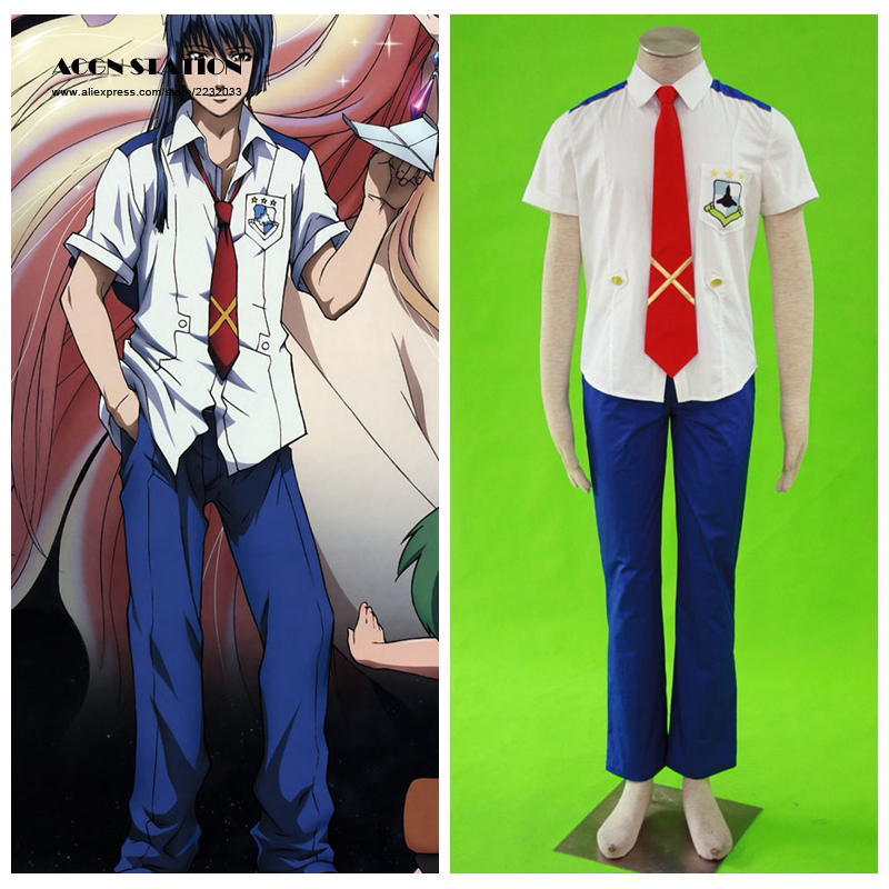 2017 Free Shipping Top Selling Macross Frontier Mihoshi Academy Saotome Alto Uniform Anime Halloween Cosplay White Brand Costume