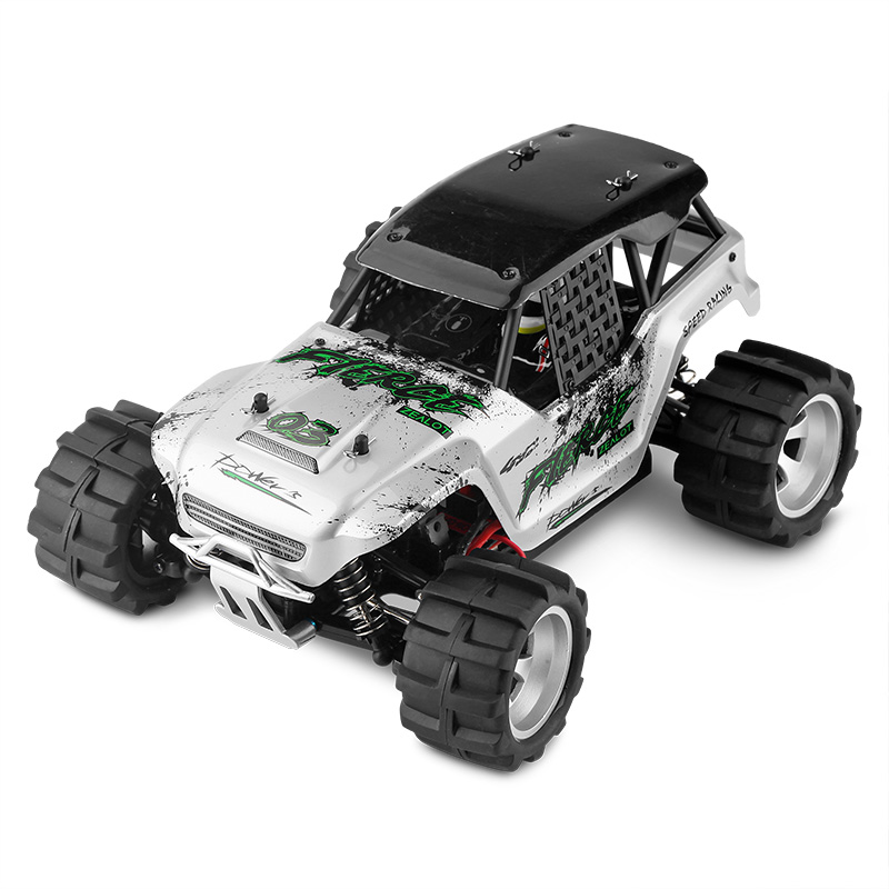 Wltoys New Arrival Electric 1:18 RC Big Foot Car 4WD High Speed Off Road Racing Car 45KM/h Remote Control Radio Cars Toy new style remote control racing car bot toy 747 2 4g 1 16 4wd high speed off road buggy professional electric rc car vs 94107