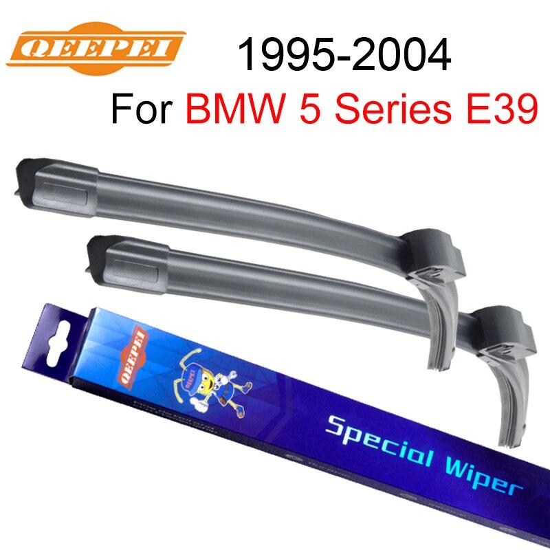 QEEPEI Scheibenwischer Klinge Für BMW 5 Serie E39 1995-2004 26 ''+ 22'' Auto Zubehör Für Auto gummi Windschutzscheibe Scheibenwischer CPZ103