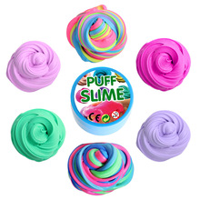 Puff Slime Fluffy Soft Clay Foam Supplies Light Plasticine Cotton Charms Luxurious Slime DIY Cloud Craft Antistress Kid Sand Toy