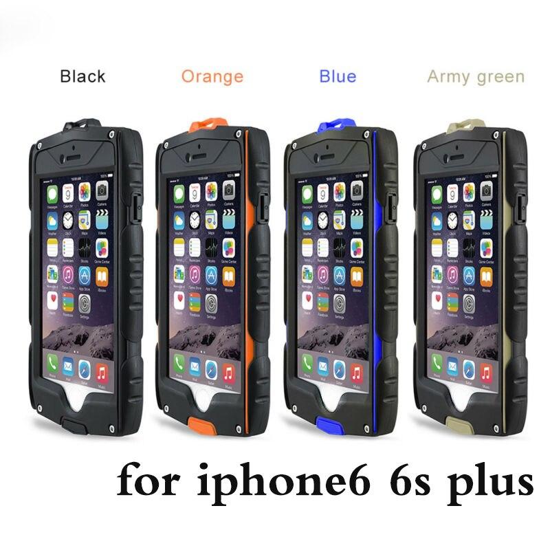 bilder für Wasserdicht stoßfest Rüstung Fall Für iPhone 6 6 s plus Heavy Duty Schutzfolie Full Body Schutz Für iPhone 6 abdeckung