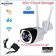 Full HD 1080 P пуля IP Камера Беспроводной GSM 3g 4G sim-карты Открытый Водонепроницаемая камера видеонаблюдения ИК Ночное видение P2P Cloud Storage