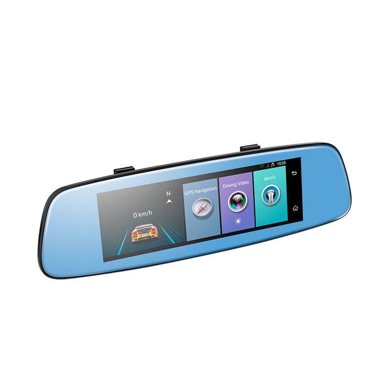 CARCHET E06 4G Car DVR 7.84 Touch ADAS Remote Monitor Rear view mirror with DVR and camera Android Dual lens 1080P WIFI dashcam