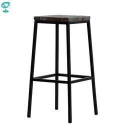 95378 Barneo N-301 de metal fuerte de madera cocina desayuno taburete para interiores Silla de Bar muebles de cocina negro envío gratis en Rusia