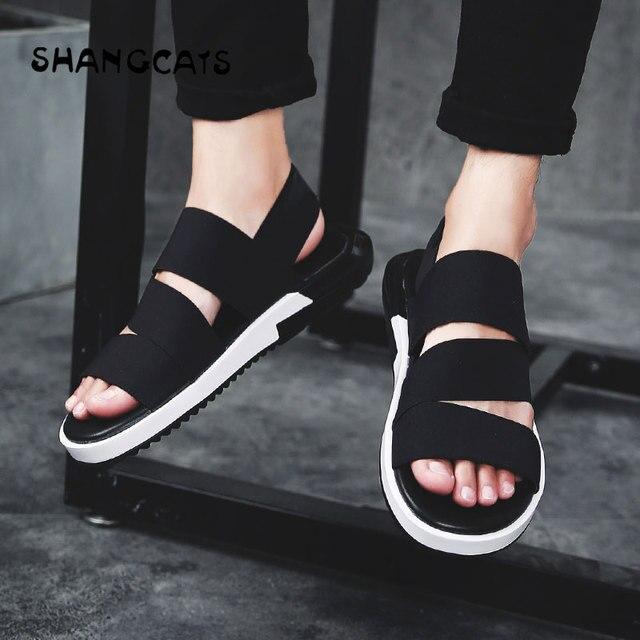 6a4dbf4776ab08 Men Summer Shoes Outdoor Sandals 2018 Men Outdoor Sport Shoes Non-slip  Beach Shoes erkek ayakkabi Free Shipping