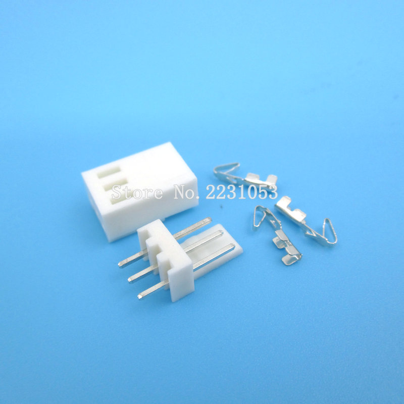 20 Sets KF2510-3P KF2510 3 Pin 2.54mm Pitch Terminal / Housing / Pin Header Connector Adaptor