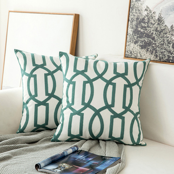 Home decor embroidered cushion cov